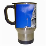 Usa White House Travel Mug (White)