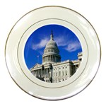 Usa White House Porcelain Plate