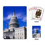 Usa White House Playing Cards Single Design