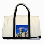 Usa White House Two Tone Tote Bag