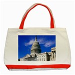 Usa White House Classic Tote Bag (Red)