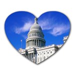 Usa White House Mousepad (Heart)