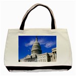 Usa White House Classic Tote Bag (Two Sides)