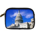 Usa White House Digital Camera Leather Case