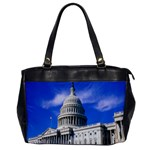 Usa White House Oversize Office Handbag (One Side)