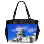 Usa White House Oversize Office Handbag (Two Sides)