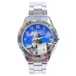Usa White House Stainless Steel Analogue Men's Watch