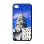 Usa White House Apple iPhone 4 Case (Black)