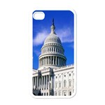 Usa White House Apple iPhone 4 Case (White)