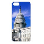 Usa White House Apple iPhone 5 Seamless Case (White)