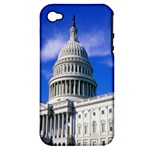 Usa White House Apple iPhone 4/4S Hardshell Case (PC+Silicone)