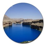 Water And Desert Band Eamir Afghanistan Round Mousepad