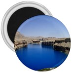 Water And Desert Band Eamir Afghanistan 3  Magnet
