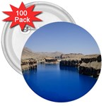 Water And Desert Band Eamir Afghanistan 3  Button (100 pack)