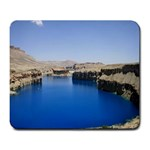 Water And Desert Band Eamir Afghanistan Large Mousepad