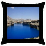 Water And Desert Band Eamir Afghanistan Throw Pillow Case (Black)