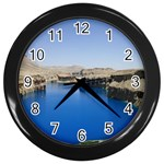 Water And Desert Band Eamir Afghanistan Wall Clock (Black)