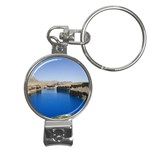Water And Desert Band Eamir Afghanistan Nail Clippers Key Chain