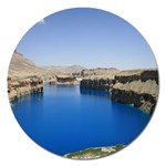 Water And Desert Band Eamir Afghanistan Magnet 5  (Round)