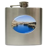 Water And Desert Band Eamir Afghanistan Hip Flask (6 oz)