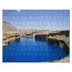 Water And Desert Band Eamir Afghanistan Jigsaw Puzzle (Rectangular)