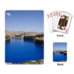 Water And Desert Band Eamir Afghanistan Playing Cards Single Design