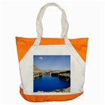 Water And Desert Band Eamir Afghanistan Accent Tote Bag