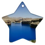 Water And Desert Band Eamir Afghanistan Star Ornament (Two Sides)