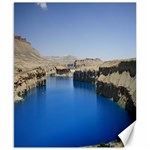 Water And Desert Band Eamir Afghanistan Canvas 8  x 10
