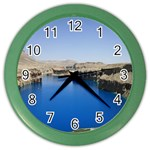 Water And Desert Band Eamir Afghanistan Color Wall Clock