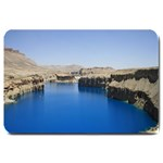 Water And Desert Band Eamir Afghanistan Large Doormat