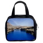Water And Desert Band Eamir Afghanistan Classic Handbag (Two Sides)