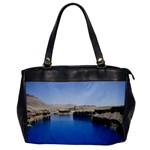 Water And Desert Band Eamir Afghanistan Oversize Office Handbag (One Side)