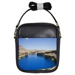 Water And Desert Band Eamir Afghanistan Girls Sling Bag