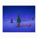 Walking Christmas Tree In Holiday Glasses Cloth (Small)
