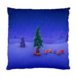Walking Christmas Tree In Holiday Cushion Case (Two Sides)