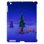 Walking Christmas Tree In Holiday Apple iPad 3/4 Hardshell Case (Compatible with Smart Cover)