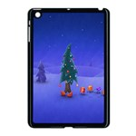 Walking Christmas Tree In Holiday Apple iPad Mini Case (Black)