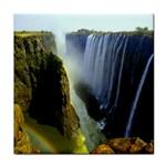 Victoria Falls Zambia Tile Coaster