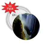 Victoria Falls Zambia 2.25  Button (10 pack)