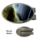 Victoria Falls Zambia Money Clip (Oval)