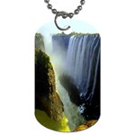 Victoria Falls Zambia Dog Tag (Two Sides)