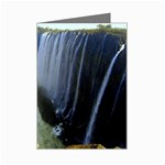 Victoria Falls Zambia Mini Greeting Card