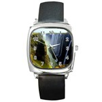 Victoria Falls Zambia Square Metal Watch