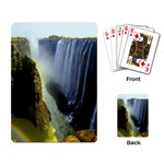 Victoria Falls Zambia Playing Cards Single Design
