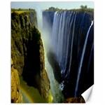 Victoria Falls Zambia Canvas 16  x 20