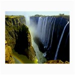 Victoria Falls Zambia Glasses Cloth (Small, Two Sides)