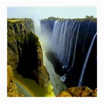 Victoria Falls Zambia Glasses Cloth (Medium, Two Sides)