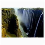 Victoria Falls Zambia Glasses Cloth (Large, Two Sides)