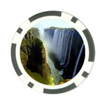 Victoria Falls Zambia Poker Chip Card Guard (10 pack)
